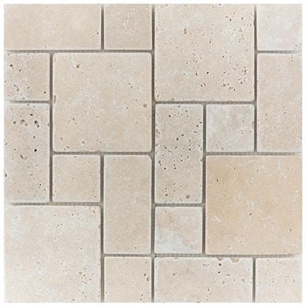 Travertine-mosaics_Mini-Pattern-Set-light